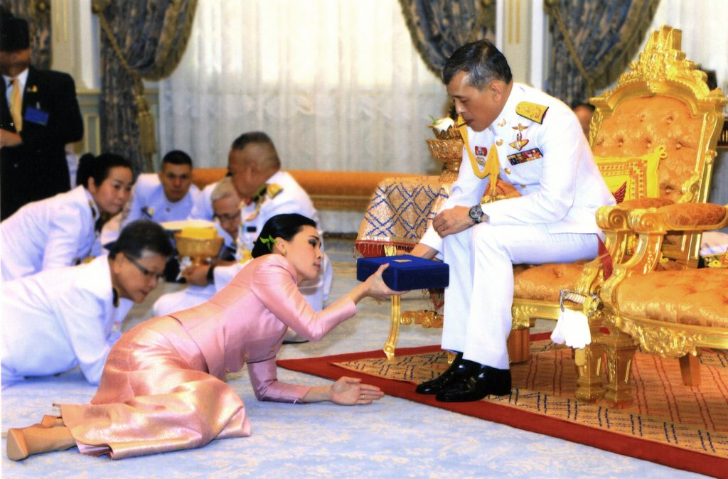 thailand king vajiralongkorn coronation
